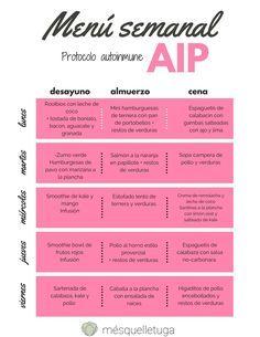 Menu paleo unico e creativo – AIP Paleo Autoinmune, Menu Dieta Paleo, Paleo Recipes, Paleo Meals, Keto, Paleo Food, Paleo Menu Plan, Paleo Diet Plan, Aip Diet
