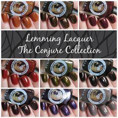 Lavish Layerings - Lemming Lacquer Halloween 2016