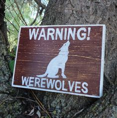 Warning Werewolves Wooden Sign Made to Order Polaroid, Twilight Pictures, Alice, She Wolf, Lunar Chronicles, Life Is Strange, Mythical Creatures, Mythological Creatures, Werewolf