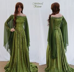 The Woodland Witch - m-e-d-i-e-v-a-l-d-r-e-a-m-s: Elven clothes By...