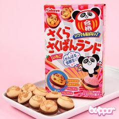 Kabaya Panda Strawberry Chocolate Balls