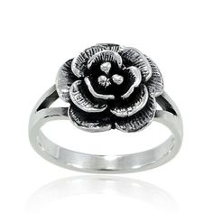Chuvora 925 Sterling Silver Vintage Classic Rose Flower Ring for Women - Nickel Free - http://www.amazon.com/dp/B00ARBHNGQ/ref=cm_sw_r_pi_dp_yOtctb1MZTBNFDC1