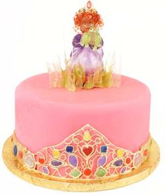 princess_frog_jewel_cake