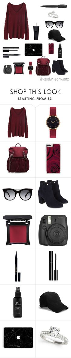 """A Day In NY"" by karalyn-schwartz ❤ liked on Polyvore featuring Abbott Lyon, M Z Wallace, Casetify, Alexander McQueen, Monsoon, Illamasqua, Fujifilm, Stila, Chanel and e.l.f."