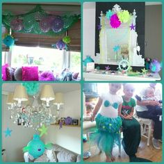 Little mermaid party.