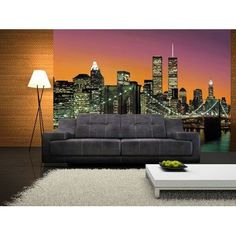 Twin Towers New York Wall Mural