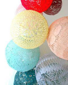 crochet balloons