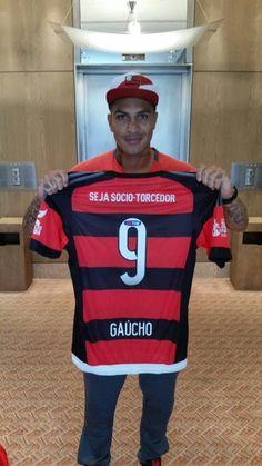 De 9 para 9: Guerrero usa nome de Gaúcho em homenagem no Fla-Flu #globoesporte