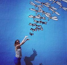 Porque o mundo é muito grande para ficar parado num lugar só.  Liberte-se  e viaje. Parabéns para nós  mulheres todos os dias. 👉 Street art San Diego. Quer dicas sobre a cidade californiana com perfil brasileiro? Corre lá no www.fourtrip.com.br #sandiego #california #califa #usa #roadtripcalifornia #blogfourtrip #travel #travelgram #instatravel #diadamulher #MISSÃOVT  #viagemeturismo #viagemtop #viagem #euamoviajar #ogloboboaviagem by (blogfourtrip). missãovt #viagemtop #blogfourtrip…