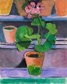 Henri Matisse, Pot de géraniums, 1912.