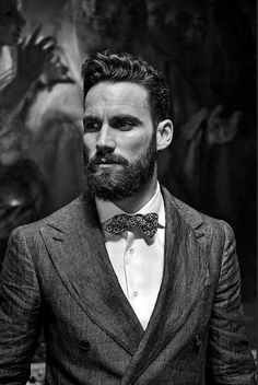 love beards and bowties and fancy hair.