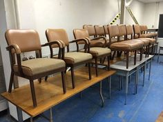 Allsteel vintage industrial retro chairs  rare find by VEEJAYB, $199.00