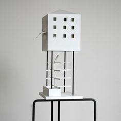 Gelbe Haus Model Valerio Olgiati