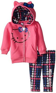 Hello Kitty Baby-Girls Newborn Hoodie with Blue Bow and Houndstooth Legging, Passion Fruit, 3-6 Months Hello Kitty http://www.amazon.com/dp/B00VWKB05Q/ref=cm_sw_r_pi_dp_-hc7wb0J1KX86