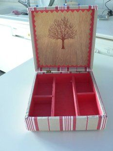 1000 images about cajas de madera pintadas on pinterest - Manualidades con cajas de madera ...