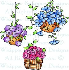 Garden Hanging Trio