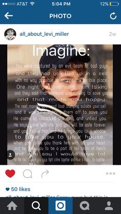 Imagine. Follow @all_about_levi_miller on Instagram