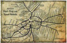 Berlin 1901 Berliner Stadt-Ring-und Vorort-Verkehr.