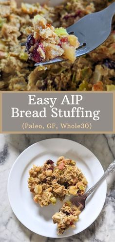 Some classic holiday foods like turkey, sweet potatoes, salads, and veggies are naturally AIP compliant but what about stuffing? Most AIP stuffings require making an AIP bread first, then adding it into a stuffing mixture, while others leave out the bread entirely. If you're wanting a bread-like stuffing without the added time and effort of making the bread first, this is the recipe for you! #aipstuffing #aipdressing #autoimmuneprotocol #paleo #whole30 #grainfree #glutenfree #grainfree Eating Vegetables, Veggies, Holiday Foods, Holiday Recipes, Aip Diet, Autoimmune Diet, Paleo Thanksgiving, Paleo Dinner, Side Dish Recipes