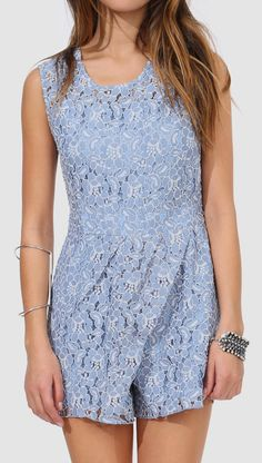 Charleston Lace Romper