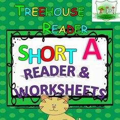 READER - FLASHCARDS - WORKSHEETS Short A Reader: This reader is to practice reading short A words in simple sentences.Perfect to start reading with your little ones. Additionally flashcards and a worksheet pack of 10 worksheets is included in this reader.