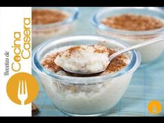 Arroz con leche casero. Recetas de postres | Recetas de Cocina Casera - Recetas fáciles y sencillas