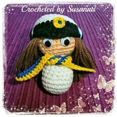 Crochet Swedish Student - Virkad Student - Crocheted by Susanna
