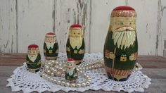 Check out this item in my Etsy shop https://www.etsy.com/listing/539841130/vintage-wooden-nesting-santa-claus