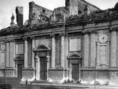 Il prospetto principale della Chiesa della Maddalena nel 1909 Messina, Louvre, Community, Painting, Travel, Viajes, Painting Art, Paintings, Trips