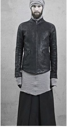 Long man skirt by — Dark Fashion, Gothic Fashion, Mens Fashion, Looks Style, My Style, Ethno Style, Man Skirt, Androgynous Fashion, Androgyny