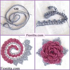 Do not miss these 34 magnificent flower patterns in crochet, with step by step tutorial. The flowers are fantastic because they bring joy and a little spring to your home or to your clothing. The crochet flowers are very useful … Read more.