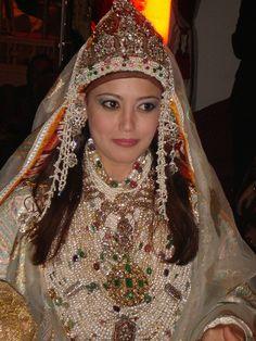 Morocco. one of the moroccan bride's outfits #MuslimWedding, www.PerfectMuslimWedding.com