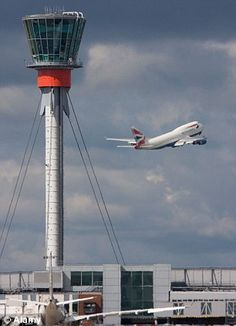 Air Traffic Control Tower (part of the airport)