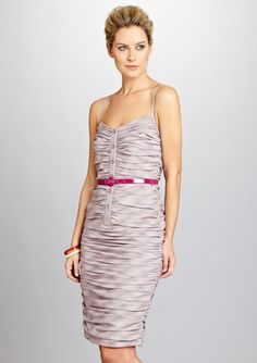 I need to make up my  mind fast on this one - LOVE IT!!!!  BYRON LARS Glen Plaid Belted Dress