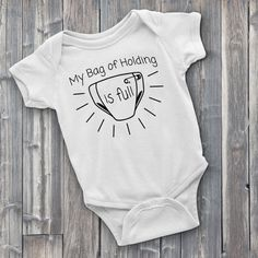 My Bag of Holding is Full D&D Onesie DnD Onesie by Level1Gamers Baby Shirts, Onesies, Dragon Baby Shower, Baby Messages, Funny Baby Clothes, Cute Games, Gamer Gifts, Baby Birthday