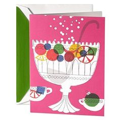 Spike the Punch holiday cards from Kate Spade