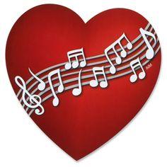 Heart Full of Music Magnet