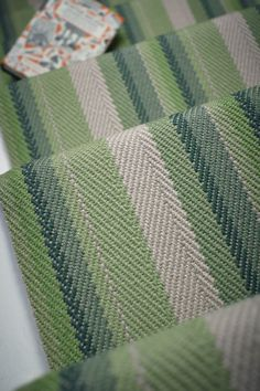 Stair Runners, carpet runners, stair rods and hall runners Carpet Stairs, Carpet Flooring, Rugs On Carpet, Carpets, Hall Runner, Hallway Designs, Patterned Carpet, Bedroom Carpet, Green Pattern