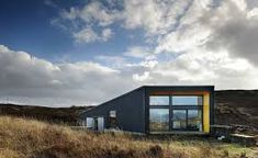 Black House - Rural Design Architects - Isle of Skye and the Highlands and Islands of Scotland Grand Designs Uk, Vernacular Architecture, British Architecture, Organic Architecture, Light Architecture, Storey Homes, Ranch House Plans, Modern Buildings, Black House