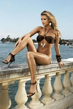 Sexy woman with great legs! More models http://sexy-calendars.net