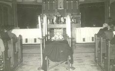 Begrafenis Theadora Wijnen Sauvè in de Antoniuskerk Heusden  1966