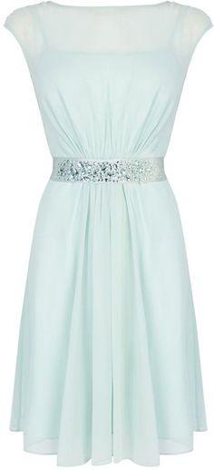 Coast Lori lee short dress Mint Green Dress da1dab599
