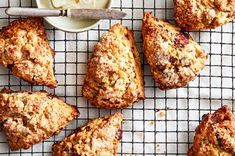 Banana Bread Scones From Samantha Seneviratne Samantha Seneviratne's easy banana bread scones are quick to bake, with no wait time before eating—and a good way to use up overripe or frozen bananas. Quick Banana Bread, Baked Banana, Banana Scones, The Joy Of Baking, Scones Ingredients, Eating Bananas, Perfect Breakfast, Food 52, Breakfast Recipes