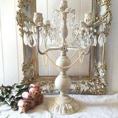 Crystal Candelabra French Wedding Candle Holder                         – Hallstrom Home