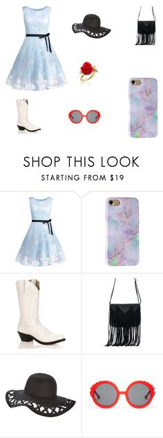 """""""Untitled #52"""" by elizabethsimmons-2 on Polyvore featuring Durango, WithChic, Preen and Disney Couture"""