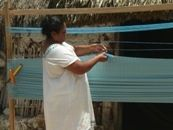 Mexican hammocks made by hand. http://www.stylemexican.com/about-stylemexican.html