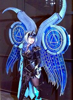 Aion cosplay Templière wings Hyperion   (https://fr-fr.facebook.com/VicNyophelieEtNanouCosplay )