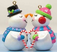 A resource guide for Hallmark collectors Christmas Time Is Here, Merry Christmas And Happy New Year, Christmas Snowman, Christmas Crafts, Christmas Ornaments, Hallmark Keepsake Ornaments, Snowmen, Polymer Clay, Feels