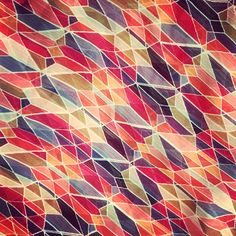 Kinda like stained glass #pattern #patterncurator #lookslike #oneaday