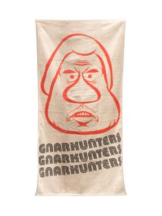 Gnarhunters Barry McGee Face Towel